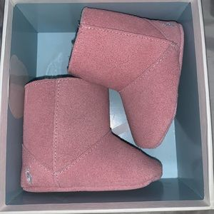 Brand New ✨Ralph Lauren Pink Lether boots 🌸🎀